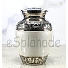 Esplanade urna para cenizas crematorias Memorial Container Jar Pot para cenizas humanos sigue siendo | latón Urns | Metal Urns | funeraria Urns