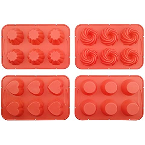 Stampi per torta in Silicone Silivo confezione