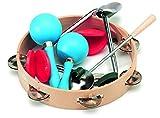 Gitre 3002 Paire de castagnettes 4 Rhythmical et des autres Instruments de Percussion Kit de l\'emballage