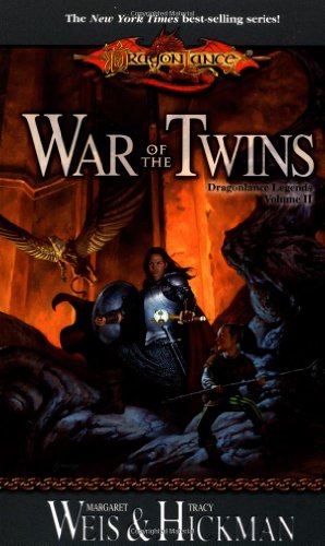 Cover of War Of The Twins (Dragonlance: Legends 2)