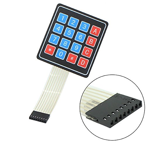 ARCELI 5Pcs 4x4 Universal 16 Teclado Keypad Clave