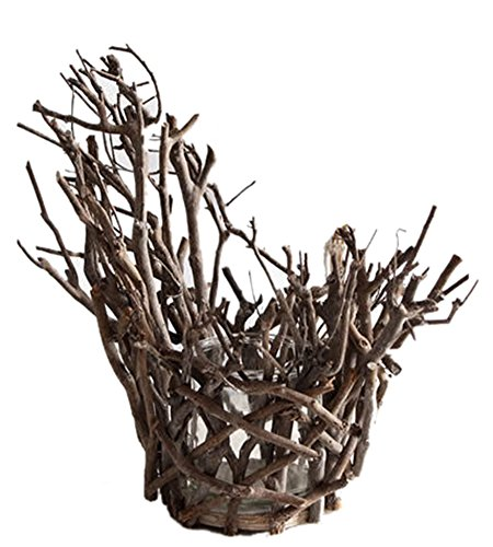 Icegrey decorative Tea Branch Garden Style candele tealight Holder, As Picture, Branch