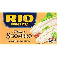 Rio Mare, Filetti di Sgombro all'Olio di Oliva 26% - 125 gr