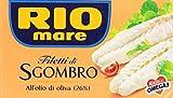 Rio Mare - Filetti di Sgombro, all'Olio di Oliva 26% - 10 pezzi da 125 g [1250 g]