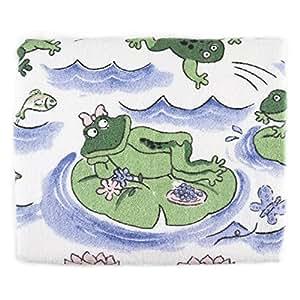 Froggy Day Printed Design Bathroom Bath Towel by BigKitchen