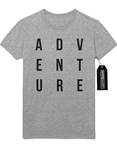 T-Shirt ADVENTURE F959493 Grau