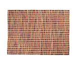 Sukhi Avi: mehrfarbiger Webteppich, buntes Design, flach, stark, viele Farben, Wolle (250cm x 300cm / 8' 2.42'' x 9' 10.1'')