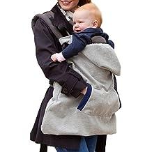 Butterme Hoodie Universal-All Season Trägerabdeckung windundurchlässige Babydecke Warm Baby mit Kapuze Mantel für Baby-Träger