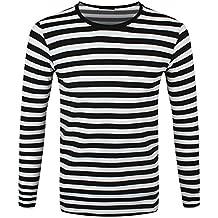 2fe4c16ea57c25 Suchergebnis auf Amazon.de für  schwarz weiß gestreiftes shirt herren
