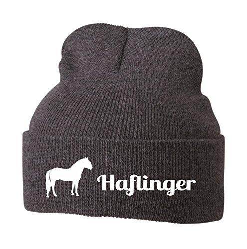 Siviwonder Strickmütze Pferde - Haflinger Sport und Freizeitpferd Freiheitsdressur -...