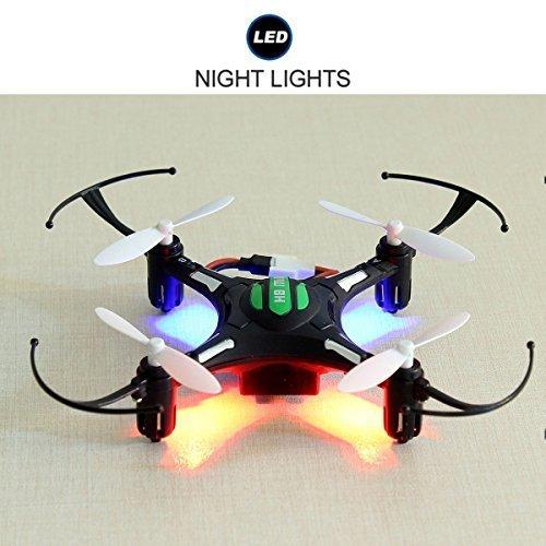 EACHINE H8 Mini Quadcopter Drone Headless Mode 2.4G 4CH 6 Axis Droni Radiocomandati Quadricottero RTF Modalità 2 (Nero)