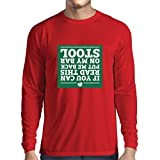 T-Shirt Manches Longues Homme Citations de parade de jour de St patty, shamrock irlandais de St patrick (XX-Large Rouge Multicolore)