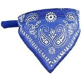 HuntGold precioso Collar Pequeño Pañuelo Bandana Decoración para perro gato perrito (azul)