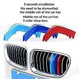 4G-kitty Fit para BMW línea tres rayas de color 3 serie 5 serie 7 serie X1X3X4X5X6 red modificada tres colores barra de decoración 13-18 años nuevo 3 línea de una sola cara red media 8 bar aplicación.