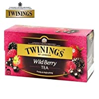 Twinings Wild Berry Tea (Imported) - 25 Tea Bags, 50g