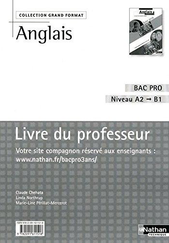 ANGLAIS BAC PRO PROFESSEUR 09