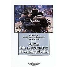 Normas para la descripción de vasijas cerámicas (Hors collection)