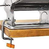 Nudelmaschine aus Stahl für Lasagne, Spaghetti und Tagliatelle - 6