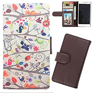 DooDa - For Samsung Galaxy Young PU Leather Designer Fashionable Fancy Wallet Flip Case Cover Pouch With Card, ID & Cash Slots And Smooth Inner Velvet With Strong Magnetic Lock