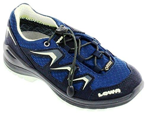 Lowa Innox Evo Gtx Lo Junior, Chaussures de Randonnée Mixte Enfant Bleu