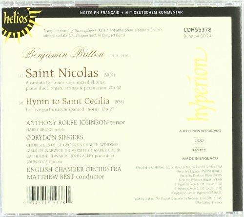 Saint Nicolas - Hymne A Sainte Cecilia