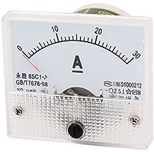 85c1 - a DC 0-30A analógico Panel amperímetro medidor de corriente de gran calibre