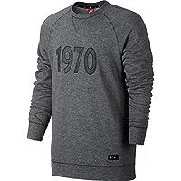 Nike PSG M NSW CRW FT AUT HTR - Long-sleeved - T-shirt Paris Saint Germain for Men, Size