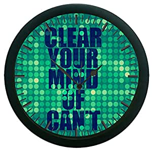 meSleep Quotes Wall Clock (With Glass)