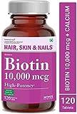 Carbamide Forte High Potency Biotin 10000mcg Maximum Strength for Hair Growth – 120