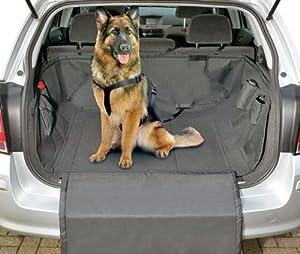 Hunde Kofferraumschutzdecke CAR SAFE DELUXE Schwarz 165 x 126 cm