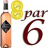 Vin rosé - Grain d'Amour Vin rosé doux x6