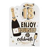 """Hallmark 18. Geburtstag Karte """"Celebrate"""" und genießen–Medium"""