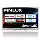 Finlux 50F8090S-T Smart Full HD 1080p LED TV with built in Freeview HD and PVR, Silver