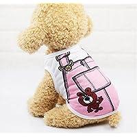 DDOQ - Disfraz de Mascota Cute Bears Pantalones Gatos Perros Ropa L