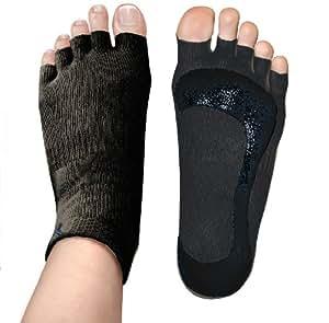 Penguin Yoga Socks — Black S