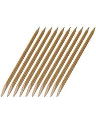 10 Rosenholzstäbchen Manikürstäbchen Hufstäbchen aus bayer. Buche - 120mm lang - Ø 4mm