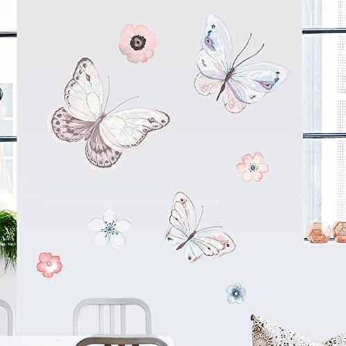 l Sticker Warmen Schaufenster Glas Make-Up Zimmer Kleidung Shop Schlafzimmer Bett Aufkleber Sofa Hintergrund Wand Dekorative Wandaufkleber Diy ()