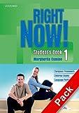 Right now! Language essentials. Student's book-Workbook-Portfolio. Con CD Audio. Per le Scuole superiori: 1