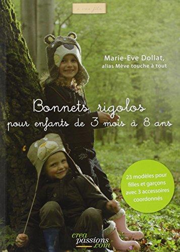 Bonnets rigolos pour enfants de 3 mois à 8 ans