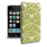 Custodia per iPhone 3GS - verde damascato Cover rigida in policarbonato e motivo