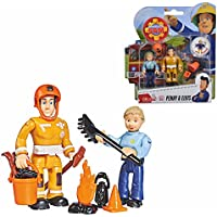 5pcs Fun Fireman Sam Fully Articulated Figure Collection Kids Toy-246394
