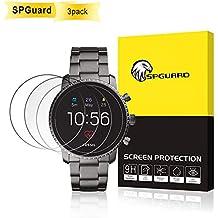 53680102f449 SPGuard Compatible Protector Pantalla Fossil Gen 4 Q Explorist  Paquete  3