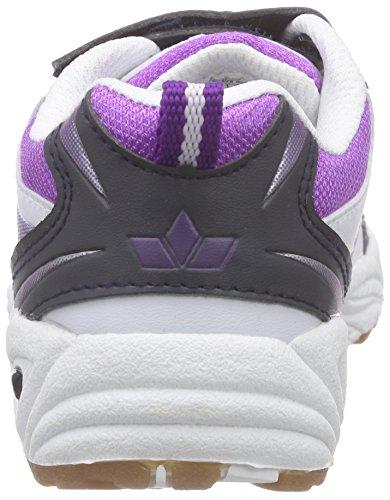 Lico Bob V 360226, Chaussures de sports d'intérieur fille Blanc - Blanc