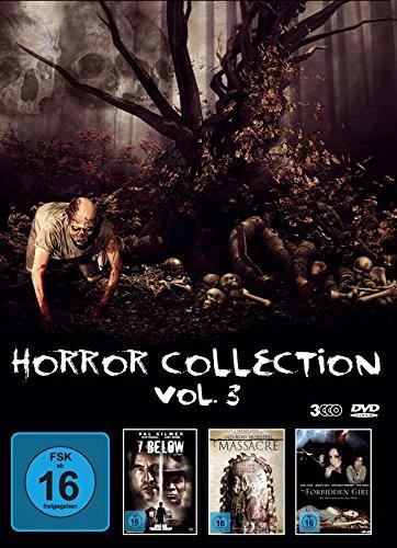 Horror Collection - Vol. 3 (3 Horrorfilme im Sammelschuber) 7 Below - Saturday Morning Massacre - The Forbidden Girl [3 DVDs]