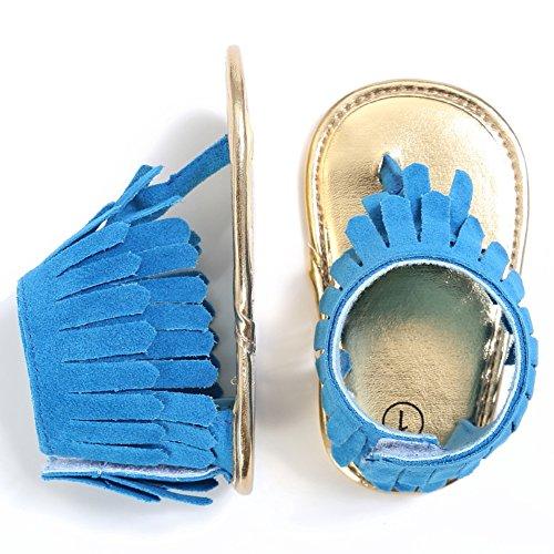 Baby Sandals online Mädchen Etrack Lauflernschuhe Blau gw05EqE