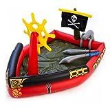 Bestway Planschbecken Kinderpool mit Wasserkanone Pirat 190 L