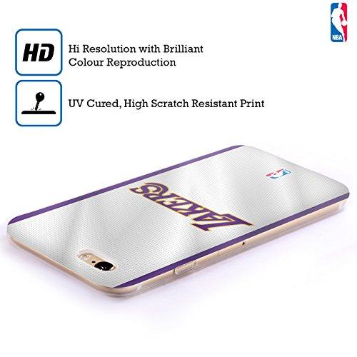 Offizielle NBA Einfach Los Angeles Lakers Soft Gel Hülle für Apple iPhone 6 / 6s Trikot