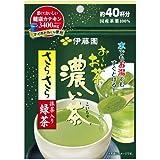 Itoen Japanese Tea ITO EN Oi tea dark brown silky green tea containing green tea 32g