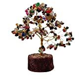 Divya Mantra Feng Shui Gemstone Crystal Bonsai Fortune Tree