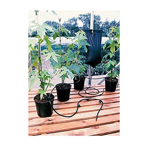 Britten und James  automatisches Pflanzenbewässerungsystem, mit 12 Stationen, Tropfbewässerung in Profiqualität, Pflegen Sie bis zu 12 Töpfe, Schalen oder Behälter, während Sie unterwegs sind, ein einfaches und sehr zuverlässiges Schwerkraft-System, bestehend aus zwei großen, robusten 10,5-Liter-Wasserbeuteln, flexiblem Wasserrohr und 12 verstellbaren Tropfköpfen, keine komplizierten Zeitschaltuhren oder Stromquellen nötig, ideal für Wintergärten, Gewächshäuser und Fensterbänke, wird von professionellen Züchtern verwendet und ist jetzt für jedermann erhältlich - Pflege Station